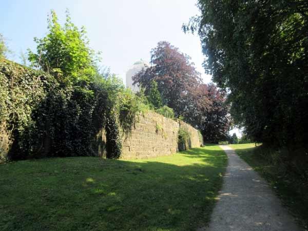 Wandern Stadtmauer Rüthen