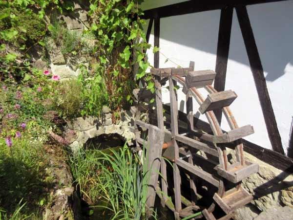 Altes Wasserrad am Hachtor, Rüthen