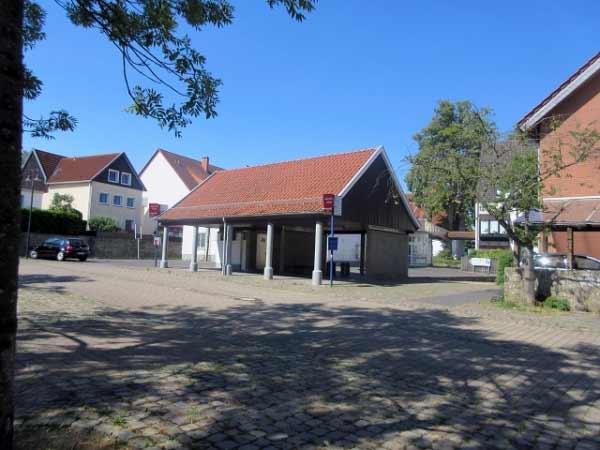 Rüthen ZOB - Busbahnhof