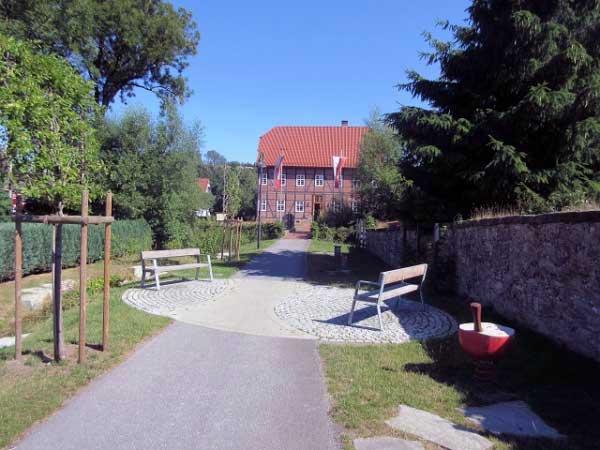 Der Spanckenhof, das Touristikbüro