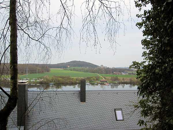 Wetter - Blick hinunter zum Harkortsee und zum Kaisberg