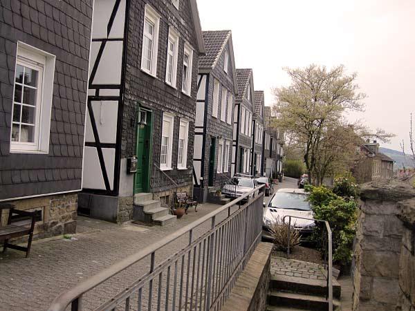 Schieferhäuser an der Königstraße