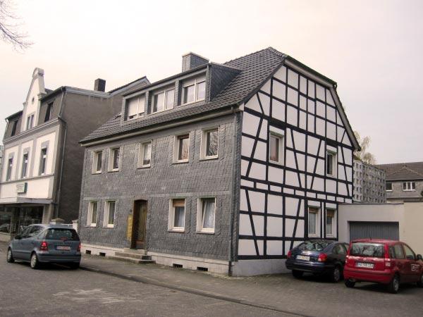 Wetter - Alte Schiefer- und Fachwerkhäuser