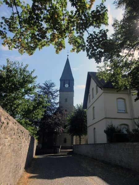 Kirche an der Wewelsburg