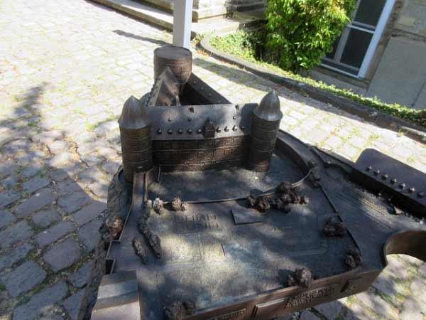 Wewelsburg Modell